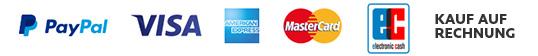nettedinge.com Zahlungsmethoden Logos