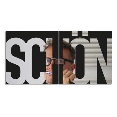 Spiegel 2x 30x30 SCHÖN von nettedinge.com